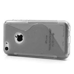 Gelové S-line pouzdro pro iPhone 5C- šedé - 3