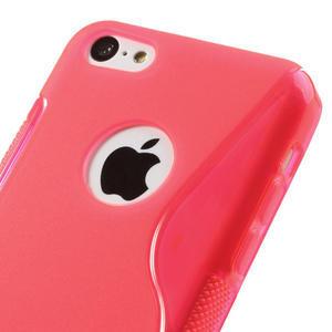 Gelové S-line pouzdro pro iPhone 5C- růžové - 3