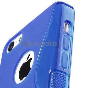 Gelové S-line pouzdro pro iPhone 5C- modré - 3