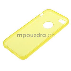 Gel-ultra slim pouzdro pro iPhone 5, 5s- žluté - 3
