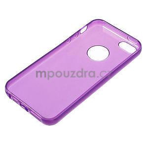 Gel-ultra slim pouzdro pro iPhone 5, 5s-fialové - 3