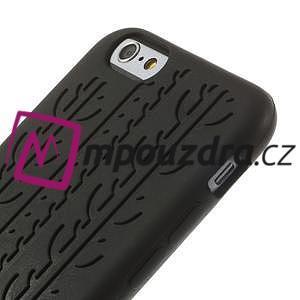 Silikonové pneu na iPhone 6, 4.7 - černé - 3