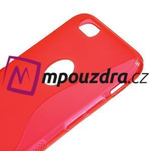 Gelové S-line pouzdro na iPhone 6, 4.7 - červené - 3