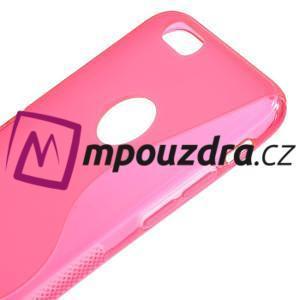 Gelové S-line pouzdro na iPhone 6, 4.7 - růžové - 3