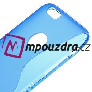 Gelové S-line pouzdro na iPhone 6, 4.7 - modré - 3