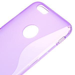 Gelové S-line pouzdro na iPhone 6, 4.7 - fialové - 3