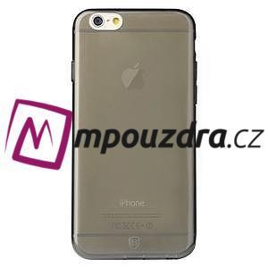 Ultra slim 0.7 mm gelové pouzdro na iPhone 6, 4.7  - šedé - 3