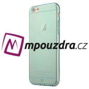 Ultra slim 0.7 mm gelové pouzdro na iPhone 6, 4.7  - modré - 3