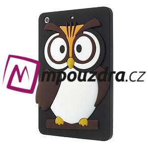 Silikonové pouzdro na iPad mini 2 - hnědá sova - 3