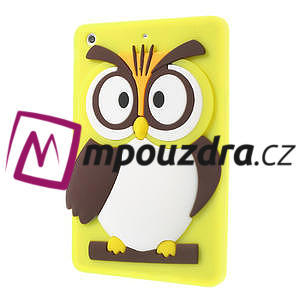 Silikonové pouzdro na iPad mini 2 - žlutá sova - 3