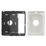 Hybridní kamínkové pouzdro pro iPad mini- bílé - 3/5