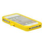 Silikonový Tučňák na iPhone 4 4S - žlutý - 3/3