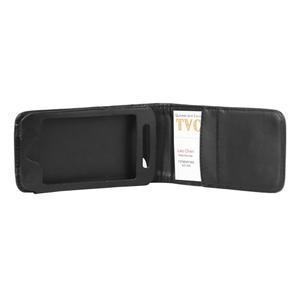 Flipové pouzdro na iPod Touch 4 - černé - 3