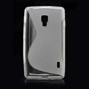 Gelové S-line pouzdro pro LG Optimus L7 II P710- šedé - 3