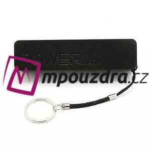 2600mAh externí baterie Power Bank - černá - 3