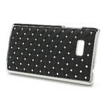 Drahokamové pouzdro pro HTC Desire 600- černé - 3/5