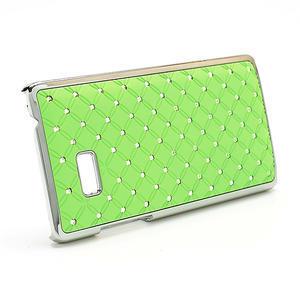 Drahokamové pouzdro pro HTC Desire 600- zelené - 3