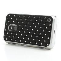 Drahokamové pouzdro na Nokia Lumia 620- černé - 3/6