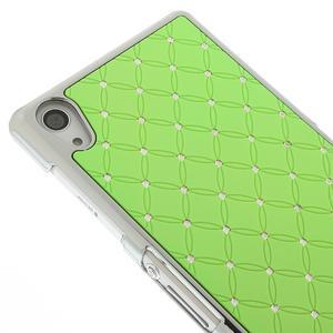 Drahokamové pouzdro na Sony Xperia Z2 D6503- zelené - 3
