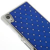 Drahokamové pouzdro na Sony Xperia Z2 D6503- modré - 3/5