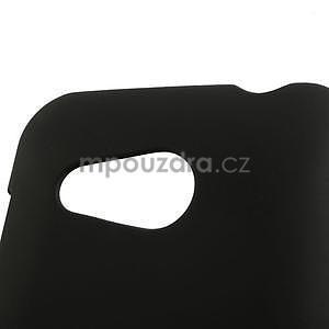 Pogumované pouzdro pro HTC Desire 200- černé - 3