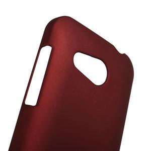 Pogumované pouzdro pro HTC Desire 200- červené - 3
