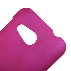 Pogumované pouzdro pro HTC Desire 200- růžové - 3
