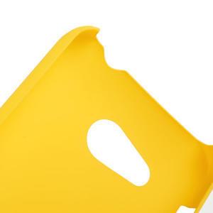 Pogumované pouzdro pro HTC Desire 200- žluté - 3