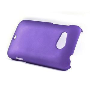Pogumované pouzdro pro HTC Desire 200-fialové - 3