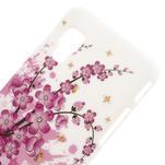 Plastové pouzdro pro LG Optimus L5 Dual E455- kvetoucí větvička - 3/3