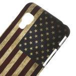 Plastové pouzdro pro LG Optimus L5 Dual E455- USA vlajka - 3/3