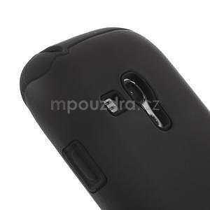 Černé hybridní pouzdro pro Samsung Galaxy S3 mini / i8190 - 3
