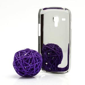 Drahokamové pouzdro pro Samsung Galaxy S3 mini i8190- světle-růžové - 3