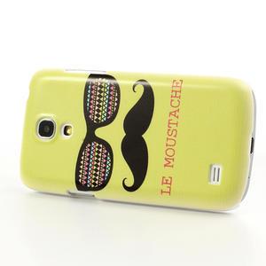 Plastové pouzdro na Samsung Galaxy S4 mini i9190- Le moustache - 3