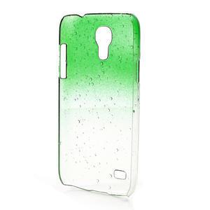 Plastové minerální pouzdro pro Samsung Galaxy S4 mini i9190- zelené - 3