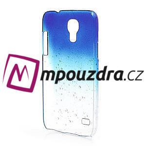 Plastové minerální pouzdro pro Samsung Galaxy S4 mini i9190- modré - 3