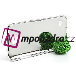 Drahokamové pouzdro pro Samsung Galaxy S4 mini i9190- červené - 3