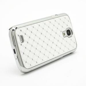 Drahokamové pouzdro pro Samsung Galaxy S4 i9500- bílé - 3