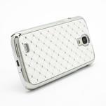 Drahokamové pouzdro pro Samsung Galaxy S4 i9500- bílé - 3/7