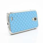 Drahokamové pouzdro pro Samsung Galaxy S4 i9500- světle-modré - 3/7