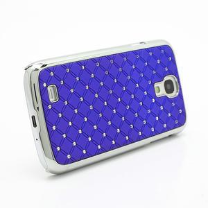 Drahokamové pouzdro pro Samsung Galaxy S4 i9500- modré - 3