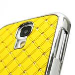 Drahokamové pouzdro pro Samsung Galaxy S4 i9500- žlutá - 3/6