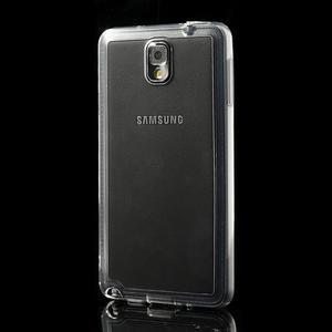 Gelové hybrid pouzdro na Samsung Galaxy Note 3- transparentní - 3