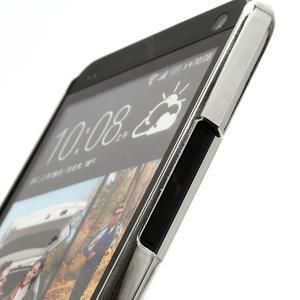 Drahokamové pouzdro pro HTC one M7- bílé - 3