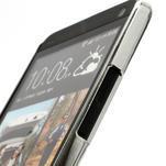 Drahokamové pouzdro pro HTC one M7- bílé - 3/7