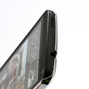Drahokamové pouzdro pro HTC one M7- růžové - 3