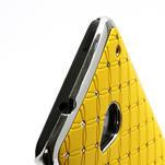 Drahokamové pouzdro pro HTC one M7- žluté - 3/6