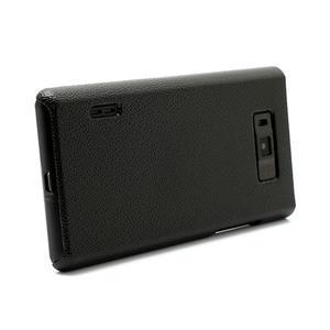 Texturované pouzdro pro LG Optimus L7 P700- černé - 3