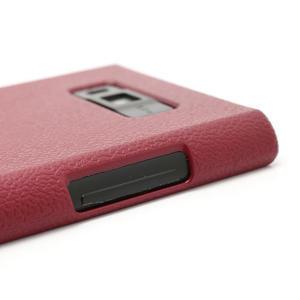 Texturované pouzdro pro LG Optimus L7 P700- červené - 3