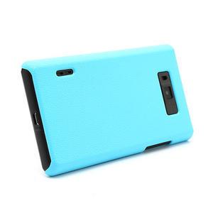 Texturované pouzdro pro LG Optimus L7 P700- modré - 3